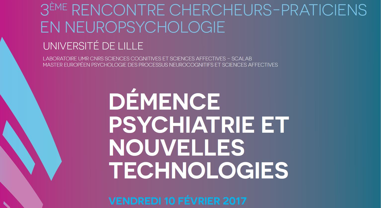 Démence Psychiatrie Et Nouvelles Technologies